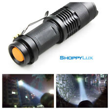 Mega Bright 3800 Lumens Waterproof Shockproof Zoom LED Flashlight Torch Light Q5
