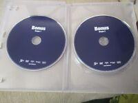 "LOT 2 DVD ""CLAUDE BERRI : DOCUMENTAIRES, COURT METRAGE, MAKING OF, ENTRETIENS"""