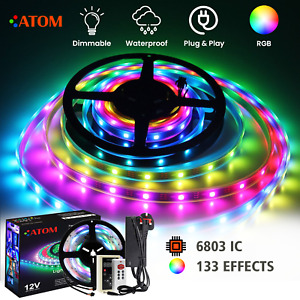 Magic Dream Colour RGB LED Strip 5050 6803IC RGB Strip 133 Effects RF Controller