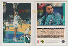 NBA UPPER DECK 1994 COLLECTOR'S CHOICE - Dell Curry # 30 - Ita/Eng- MINT