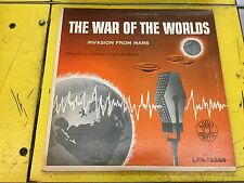 WAR OF THE WORLDS LP Invasion From Mars AUDIO RARITIES LPA 2355 WELLES  (VG)