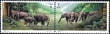 PRChina 1995-11 / Mi.#2616-17**China und Thailand Elefanten / Block of 4-MNH