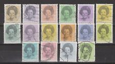 NVPH Netherlands Nederland 1237 - 1252 used Beatrix 1981-1990 Pays Bas