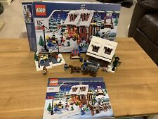 LEGO Seasonal Winter Village Bakery (10216) with Box and Instructions