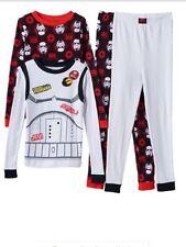 Boys Star War Rebel Stormtrooper 4pc. Pajama Set/ Size 4/ NWT
