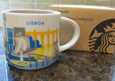 NWT Starbucks LISBOA Portugal You Are Here YAH Collector Series Mug with SKU