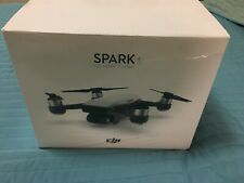 DJI Spark Fly More Combo UAV / Camera Drone - Alpine White - like new