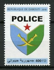Djibouti Police Stamps 2018 MNH Emblems Coat of Arms 1v Set