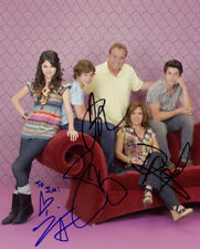 Wizards of Waverly Place (by all 4) signed authentic 8x10 photo COA