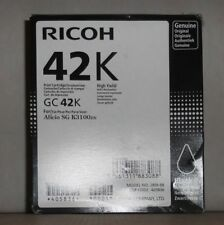 Original Ricoh Druckpatrone 42K  GC42K black 405836  für Aficio SG K3100DN  OVP