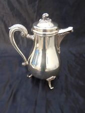 Verseuse cafetiere metal argente collection Gallia Christofle France mod Marly