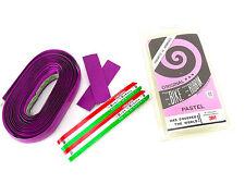 Ambrosio handlebar tape Lavender Pastel purple vintage Bicycle bar wrap NOS