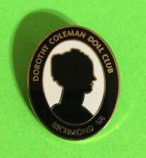 Dorothy Coleman Doll Club Pin Brooch Richmond  Virginia