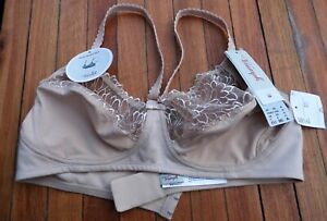 "TRIUMPH ""Modern Beauty"" EU 90A / UK 40A Non-wired Bra Soft Beige"