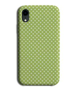 Lime Green Small Polka Dot Phone Case Cover Dots Dotted Dotty Pattern G791