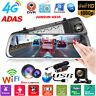 "JUNSUN A930 10"" 1080P Quad Core 4G WiFi Android 5.1 Car DVR Rearview Mirror GPS"
