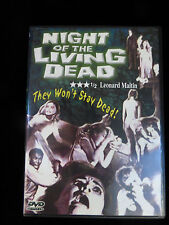 Night Of The Living Dead Dvd The original film directed by George Romero