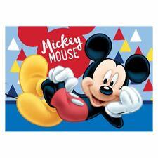 Official Disney Mickey Mouse Mat Floor Non-Slip Boys Blue