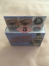 Benefit FoolProof Brow Powder!! #5 Brand new in the box! ships free! wow