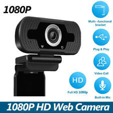 New listing 1080P Web Camera Usb Live Webcam Microphone Video for Pc Laptop Streaming Record