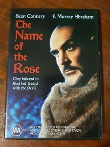The Name Of The Rose DVD R4 - Sean Connery, VGC (not ex-rental)