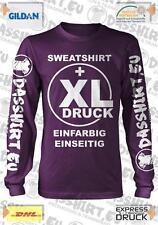 50 bedruckte Sweatshirts Siebdruck | Sweatsshirt bedruckt | Pullover bedrucken
