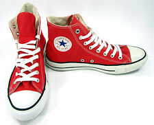 Converse Shoes Chuck Taylor Hi All Star Product Red Sneakers Men 9.5 Womens 11.5