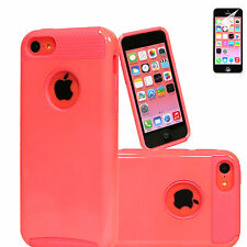 Colorful PC TPU Hard Soft Combo Hybrid Rugged Case Cover For Apple iPhone 5C C