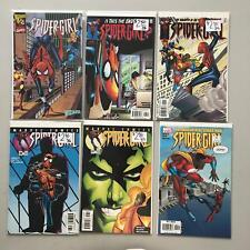 Lot of 6 Spider-Girl (1998) from #26 29 36 37 95 (1999) Wizard 1/2 VF Very Fine