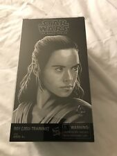 2017 SDCC Hasbro Star Wars The Last Jedi Rey and Luke Skywalker Black Series