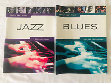Really Easy Piano Jazz + Blues Music Books Bundle - Great Condition
