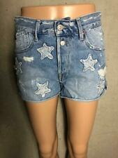 5 27 28 S M Neu UVP139€ Luxus Designer NOTIFY Jeans Hose Shorts Gr