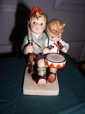 """Hummel Goebel Figurine """"Volunteers"""" Tmk 1 (Crown) Hum 50/0, 5.5"""" Germany"""