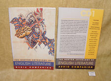 The Norton Anthology of English Literature by WW Norton & Co (2003) + Extra CD