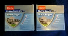 LOT OF 2 BOXES HARTZ ULTRA GUARD PLUS HOME FOGGERS-6 CANS IN ALL--FLEAS, TICKS