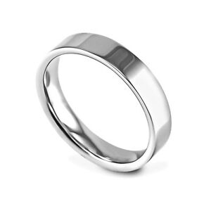 2mm Solid Sterling Silver Flat Shaped Wedding Ring Band