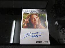 Star Trek Voyager Heroes & Villains - Sandra Nelson as Marayna Autograph