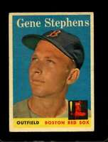 1958 TOPPS #227 GENE STEPHENS VGEX RED SOX  *X01047