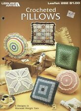 Crocheted Pillows ~ Leisure Arts - 6 designs
