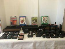 ATARI 2600 CONSOLE SYSTEM LOT DARTH VADER WOOD CONTROLLERS PADDLES GAMES JOYSTIC
