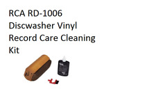 RCA RD-1006 Discwasher Vinyl Record Care Cleaning Kit