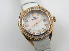 Rotary Ladies White Dial Rose Gold Case ALS00072/W/41