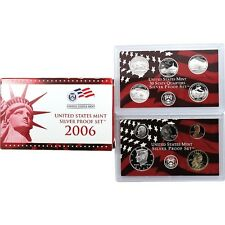 2006 U.S. SILVER PROOF SET GEM PROOF IN U.S. MINT PACKAGING WITH THE COA