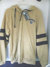Knights Apparel~Gold & Purple UW WASHINGTON HUSKIES JACKET~Men's Medium~NWT