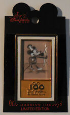 Disney Pin DLR One Hundred Mickeys 050 Steamboat Willie Pin
