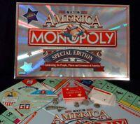 Monopoly The America Special Edition Board Game Replacement Parts & Pieces 2002