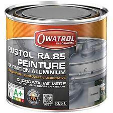 RUSTOL PEINTURE ALU RA 85 500 ml Peinture de finition couleur aluminium