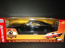 Auto World Dodge Charger 1969 Black General Lee 1/18 Limited Edition
