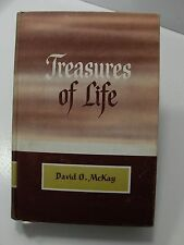TREASURES OF LIFE Discourses Published in the Instructor 1965 David McKay Mormon