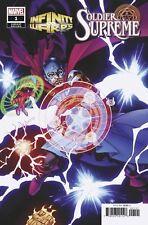 Infinity Wars Warps Soldier Supreme #1 Variant Marvel Comic 1st Print 2018 NM